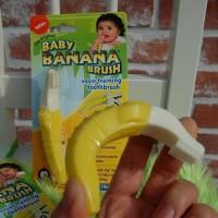 แปรงสีฟันสำหรับเด็ก : Banana Brush