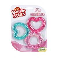 ยางกัดแช่เย็นสำหรับเด็กหญิง Bright Starts (BPA Free)