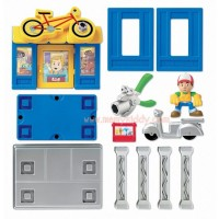 Fisher-Price Handy Manny Construction Bicycle Shop Playpacks