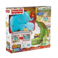 กล่องเพลงและโปรเจคเตอร์กล่อมเด็ก Fisher-Price Luv U Zoo