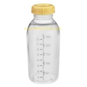 ขวดนม Medela ปั๊มนูน ขนาด 250 ml (BPA Free)