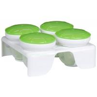 ถ้วยซิลิโคนสำหรับแช่และป้อนอาหาร Munchkin (BPA Free)