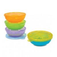 ถ้วยขนม Munchkin ชุด 4 ถ้วย (BPA Free)