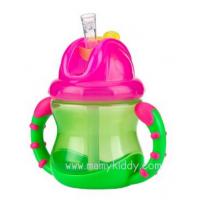 แก้วหัดดูดมีด้ามจับ Nuby Straw Cup (BPA Free)
