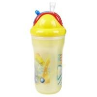 แก้วหัดดูดเก็บความเย็น Nuby ขนาด 9 Oz (BPA Free)