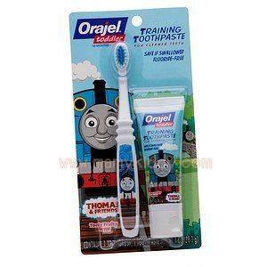 ยาสีฟันปราศจากฟลูออไรด์สำหรับเด็ก : Orajel พร้อมแปรงสีฟัน
