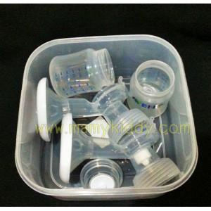กล่องเก็บชุดปั๊มสำหรับปั๊มคู่ไฟฟ้า Avent IQ DUO (BPA Free)