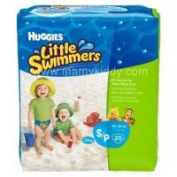 ผ้าอ้อมสำหรับว่ายน้ำ Huggies Little Swimmers ยกแพ็ค (S-M-L)