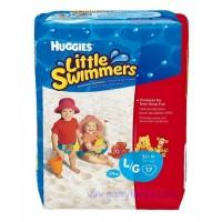 ผ้าอ้อมสำหรับว่ายน้ำ Huggies Little Swimmers ยกแพ็ค ไซส์ L- 17 ชิ้น