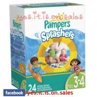 ผ้าอ้อมสำหรับว่ายน้ำ Pampers Splashers ไซส์ 3 (7-15 Kg)