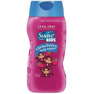 สบู่เหลวอาบน้ำสำหรับเด็ก Suave Kids Body Wash, Strawberry