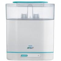 เครื่องนึ่งขวดนมไฟฟ้า Avent 3-in-1 Electric Sterilizer (BPA Free)