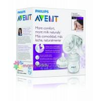 เครื่องปั๊มนมแบบมือ Avent Natural (BPA Free)