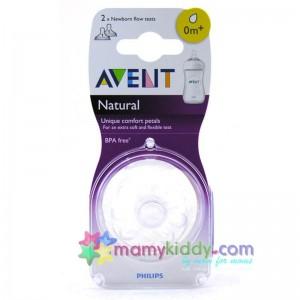 จุกนม Avent Natural ขนาดแรกเกิด (1 รู)