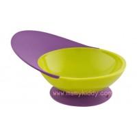ชามก้นดูด Boon Catch Bowl สี Kiwi/Grape (BPA Free)
