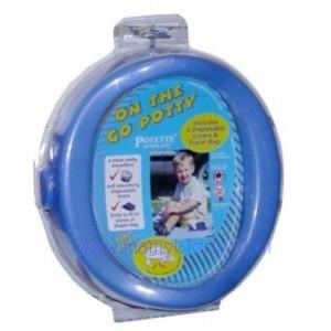 กระโถนพกพาสำหรับเด็ก Kalencom - สีน้ำเงิน