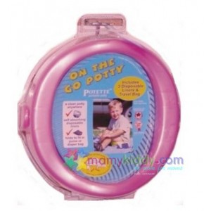 กระโถนพกพาสำหรับเด็ก Kalencom - สีชมพู