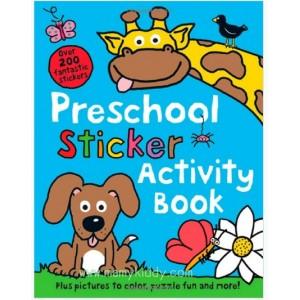 หนังสือระบายสีและกิจกรรมสำหรับเด็กก่อนวัยเรียน