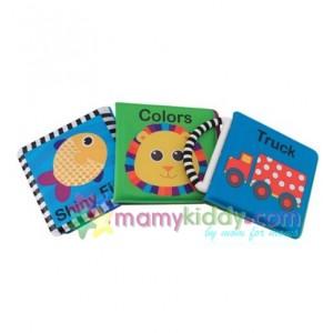 หนังสือเสริมพัฒนาการทารก : Sassy Book Set