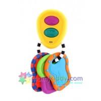 พวงกุญแจเสริมทักษะ Sassy Electronic Key (ฺBPA Free)