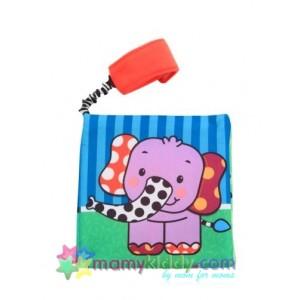 หนังสือผ้า : Sassy Go-Go Elephant