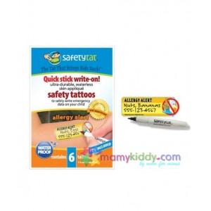 สติ๊กเกอร์ Tattoo สำหรับเด็กแพ้อาหาร