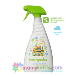 สเปรย์ทำความสะอาดพื้นผิวเอนกประสงค์ BabyGanics สูตรไม่มีกลิ่น
