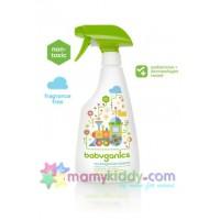 สเปรย์ทำความสะอาดของเล่นและไฮแชร์ BabyGanics สูตรไม่มีกลิ่น
