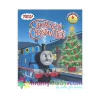 บอร์ดบุ๊ค : Thomas and the Christmas Tree (Thomas & Friends) (Lift-the-Flap)