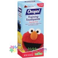 ยาสีฟันปราศจากฟลูออไรด์สำหรับเด็ก : Orajel Elmo