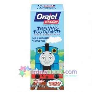 ยาสีฟันปราศจากฟลูออไรด์สำหรับเด็ก : Orajel Thomas