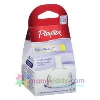 จุกนมซิลิโคน Playtex Drop-Ins ไหลช้า  - แพค 2 ชิ้น