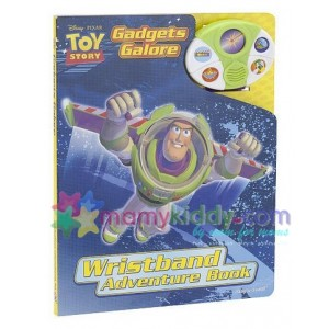 บอร์ดบุ๊ค : Toy Story Sound Book: Wristband Adventure