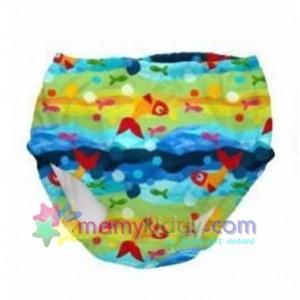 กางเกงผ้าอ้อมสำหรับว่ายน้ำ - i play Ultimate Swim Diaper - ลายปลา
