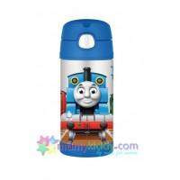 กระติกเก็บความเย็น Thermos พร้อมหลอดดูด (BPA Free) : รถไฟโทมัส