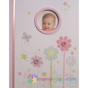 สมุดบันทึกลูกรัก : Memory Book of Baby's First Year, Pretty Petals