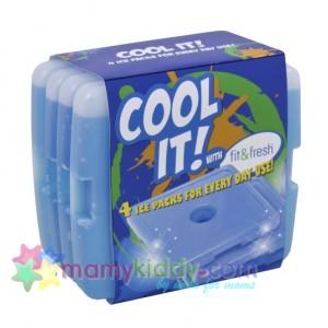 น้ำแข็งเทียมอย่างดี ชุดละ 4 ก้อน