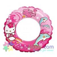 ห่วงยางเป่าลมสำหรับว่ายน้ำ Hello Kitty : IN 56200