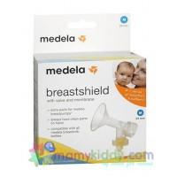 กรวยปั๊ม Medela แบบชิ้นเดียว  (BPA Free) พร้อมวาล์วและเมมเบรน
