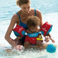 ห่วงแขนว่ายน้ำแบบเต็มตัว Nabaiji : โจรสลัดสีน้ำเงิน