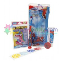 แปรงสีฟันสำหรับเด็ก Firefly : Spiderman (ชุดสำหรับเดินทาง)