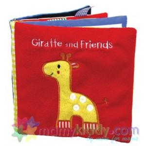 หนังสือผ้าสำหรับเด็กเล็ก : ยีราฟและผองเพื่อน
