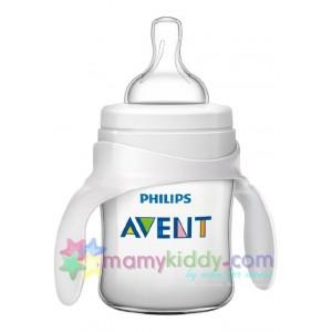 ชุดขวดหัดดื่ม Avent 4 Oz (BPA Free)