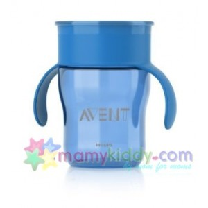 ถ้วยหัดดื่ม Avent สำหรับเด็กโต (สีน้ำเงิน / ฟ้า)