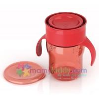 ถ้วยหัดดื่ม Avent สำหรับเด็กโต (สีแดง)