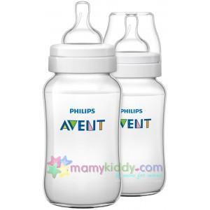 ขวดนม Avent 11 Oz (PP) BPA Free - แพคสอง