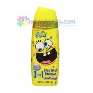 แชมพู Head to Toe Nickelodeon SpongeBob Body Wash กลิ่นส้ม