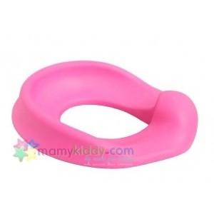 ฝารองนั่งชักโครกแบบนุ่ม Dream Baby - สีชมพู