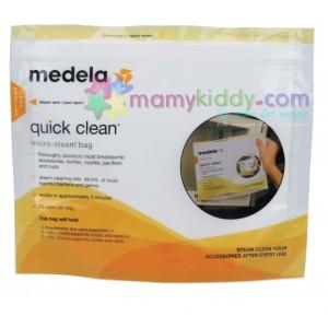 ถุงนึ่งทำความสะอาด Medela Quick Clean Micro-Steam Bags 1 ใบ