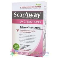 ซิลิโคนลบรอยแผลผ่าคลอด ScarAway for C-Sections